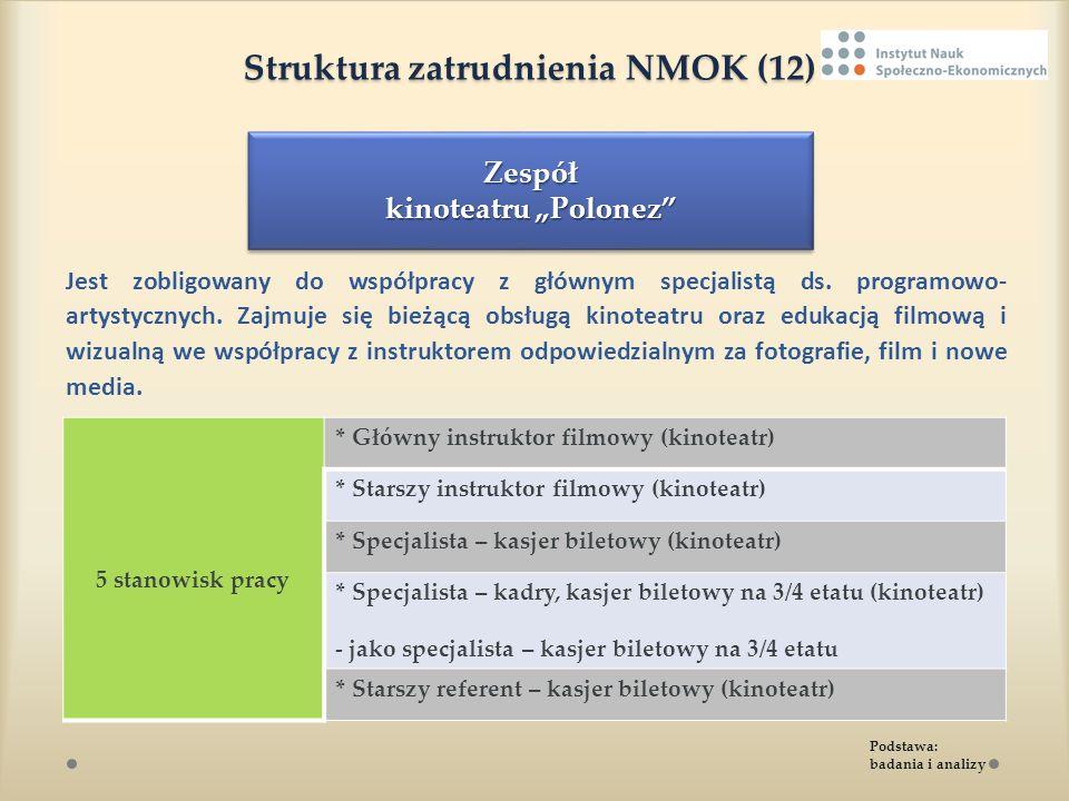 Struktura zatrudnienia NMOK (12)