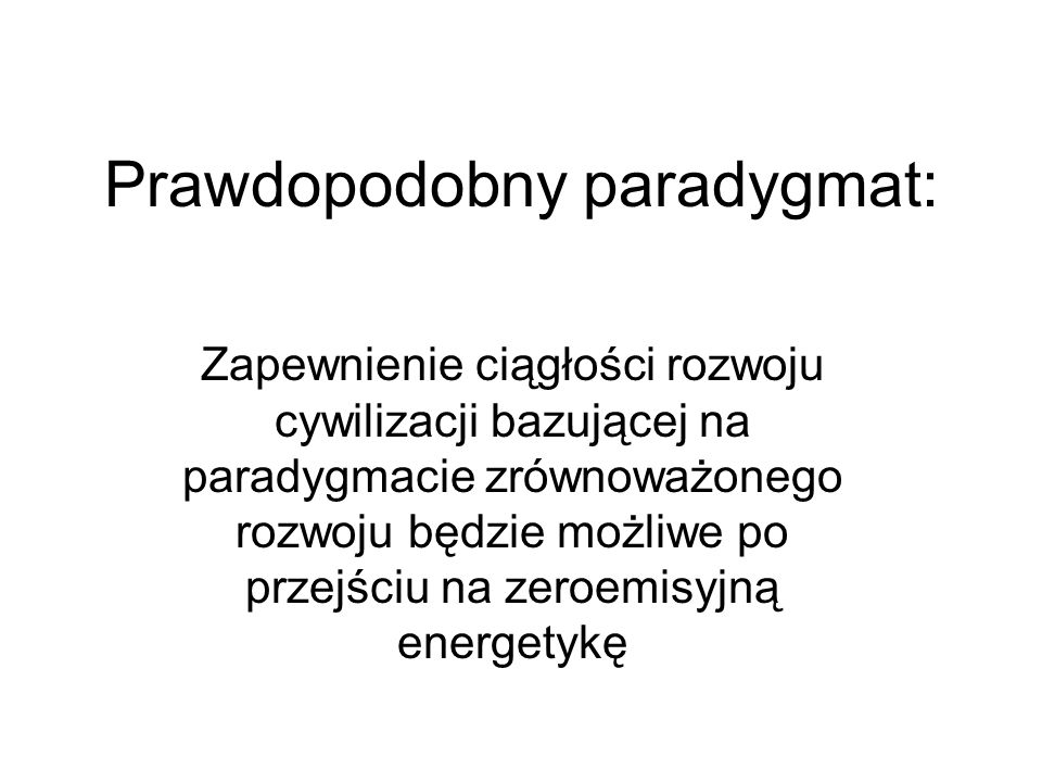 Prawdopodobny paradygmat: