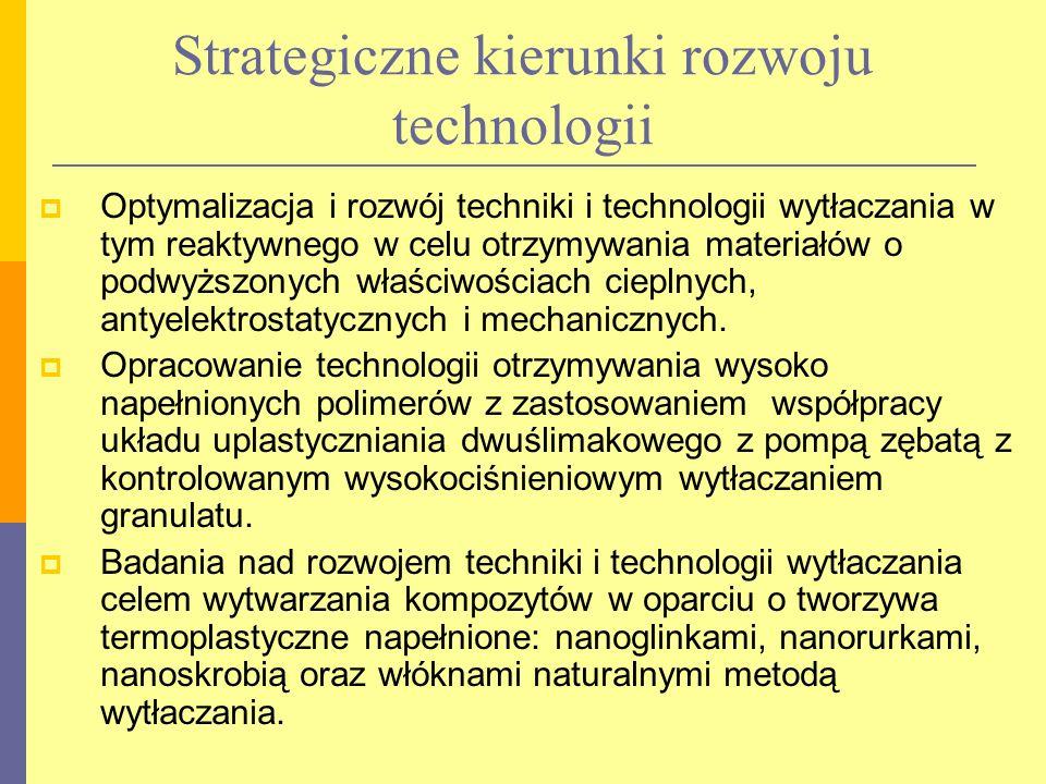 Strategiczne kierunki rozwoju technologii