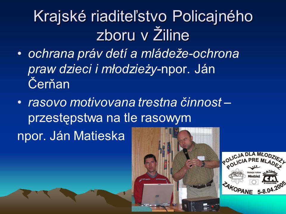 Krajské riaditeľstvo Policajného zboru v Žiline
