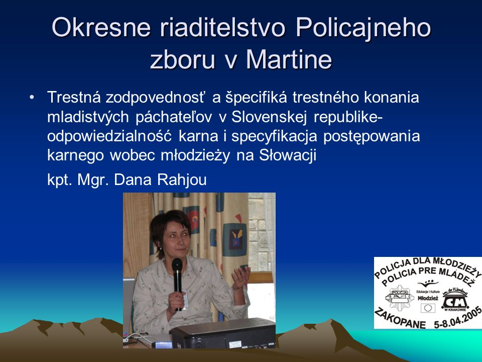 Okresne riaditelstvo Policajneho zboru v Martine