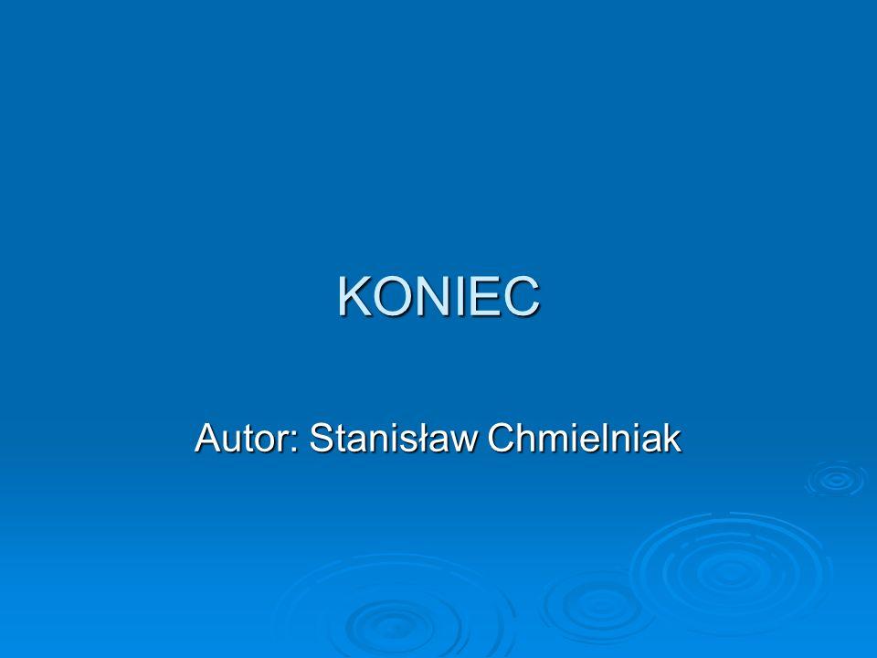 Autor: Stanisław Chmielniak