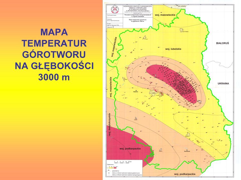 MAPA TEMPERATUR GÓROTWORU NA GŁĘBOKOŚCI 3000 m