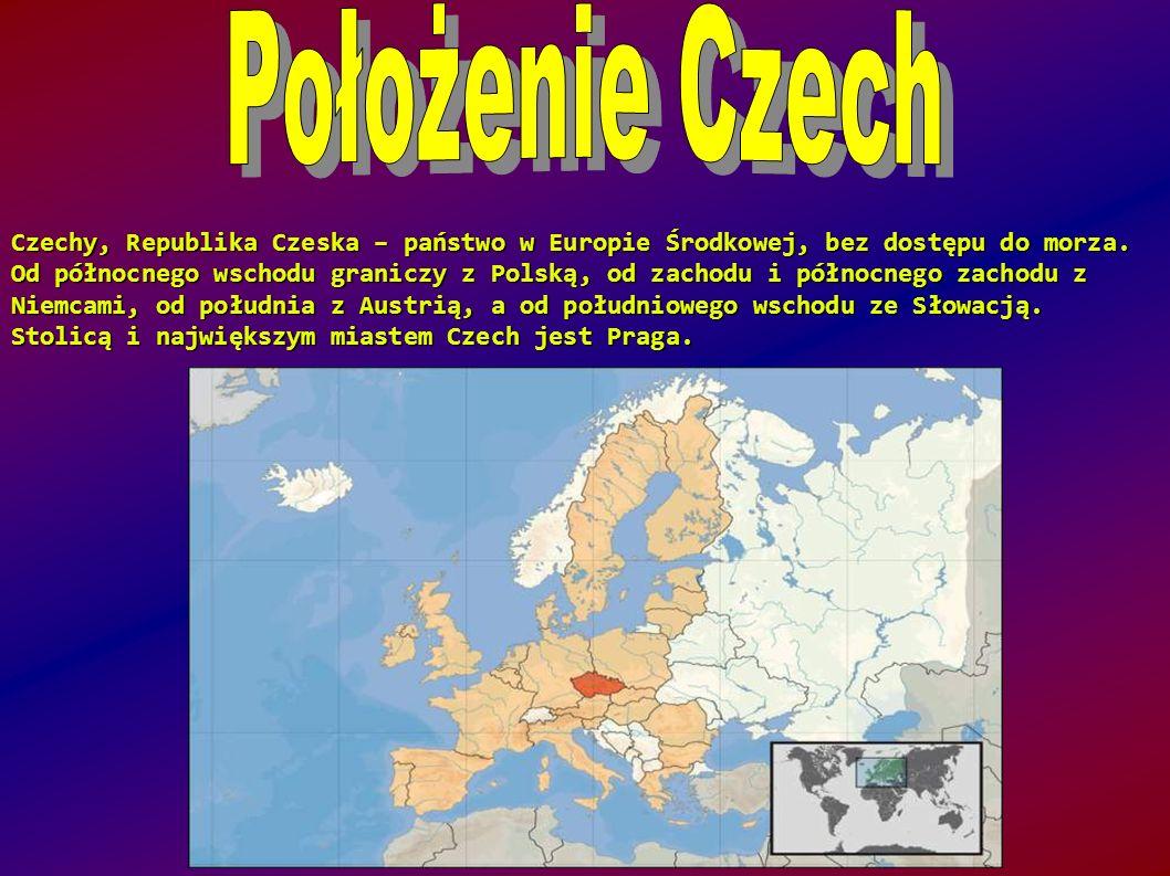 Położenie Czech
