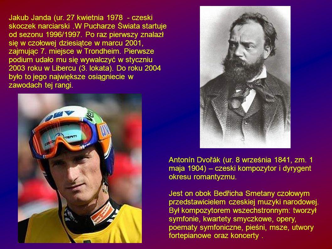 Jakub Janda (ur. 27 kwietnia 1978 - czeski skoczek narciarski