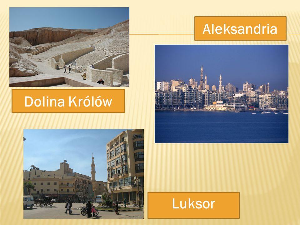Aleksandria Dolina Królów Luksor