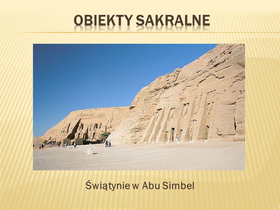 Obiekty sakralne Świątynie w Abu Simbel