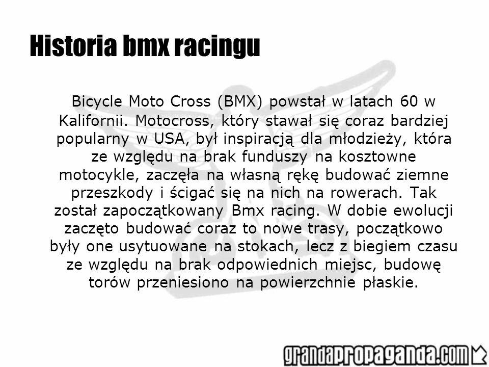 Historia bmx racingu