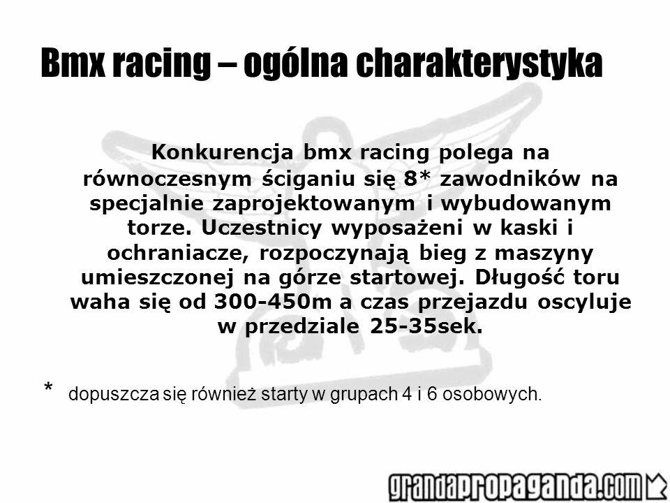 Bmx racing – ogólna charakterystyka