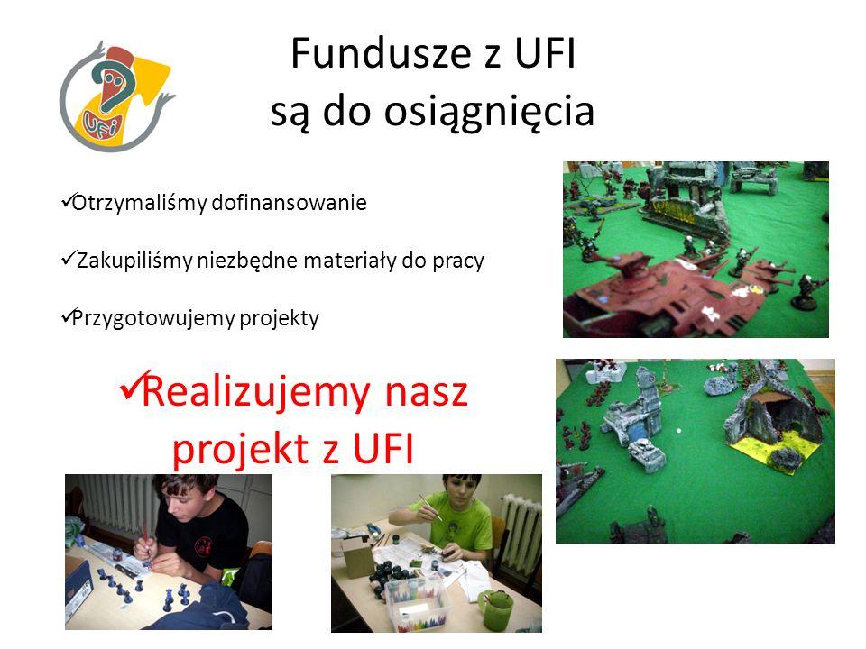 Fundusze z UFI są do osiągnięcia