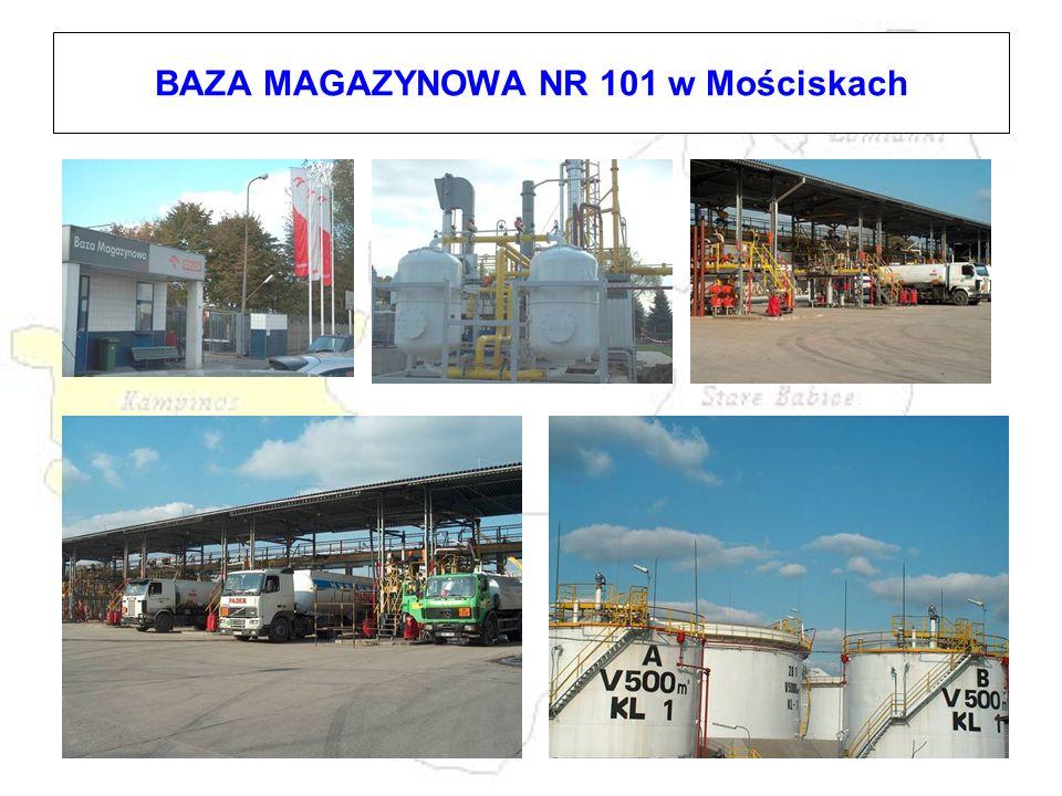 BAZA MAGAZYNOWA NR 101 w Mościskach