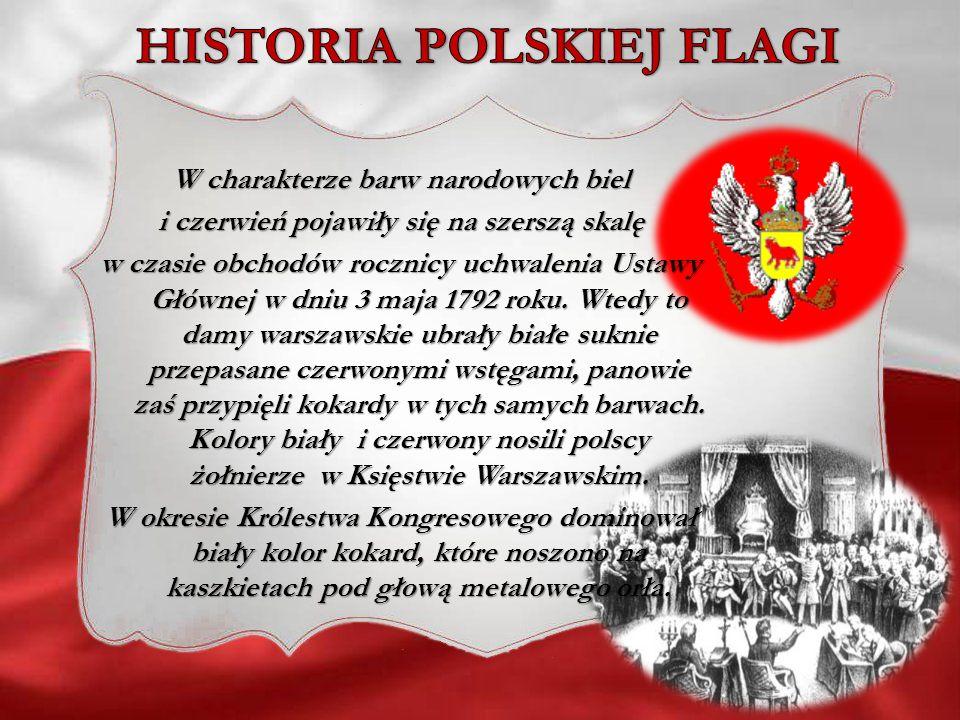 HISTORIA POLSKIEJ FLAGI