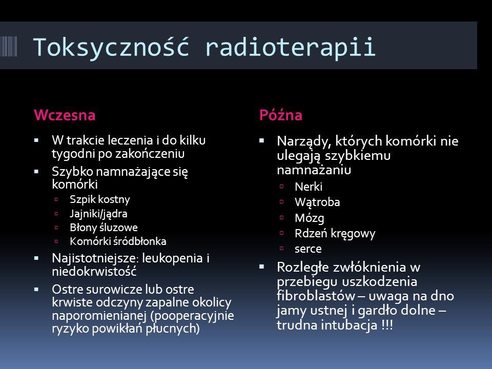 Toksyczność radioterapii