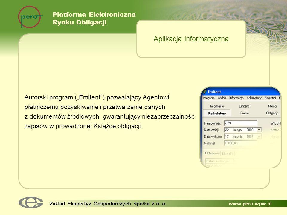 Aplikacja informatyczna