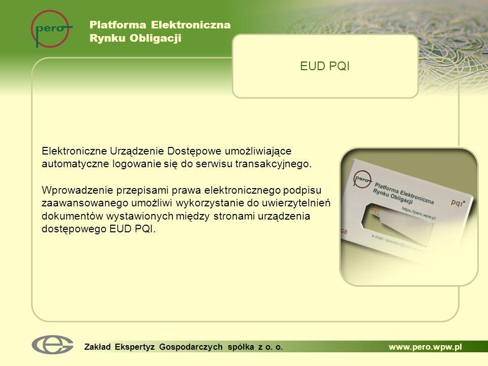 EUD PQI Platforma Elektroniczna Rynku Obligacji