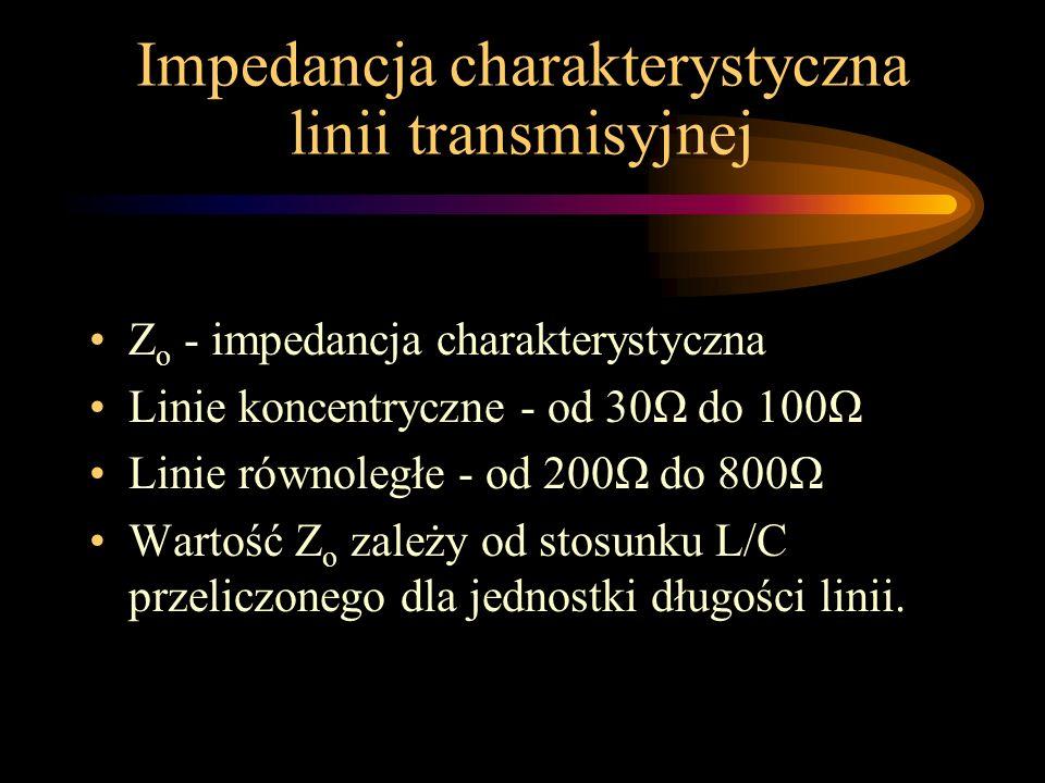 Impedancja charakterystyczna linii transmisyjnej