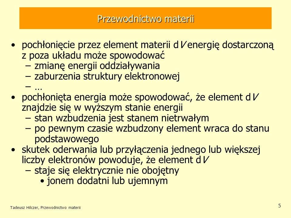 Przewodnictwo materii