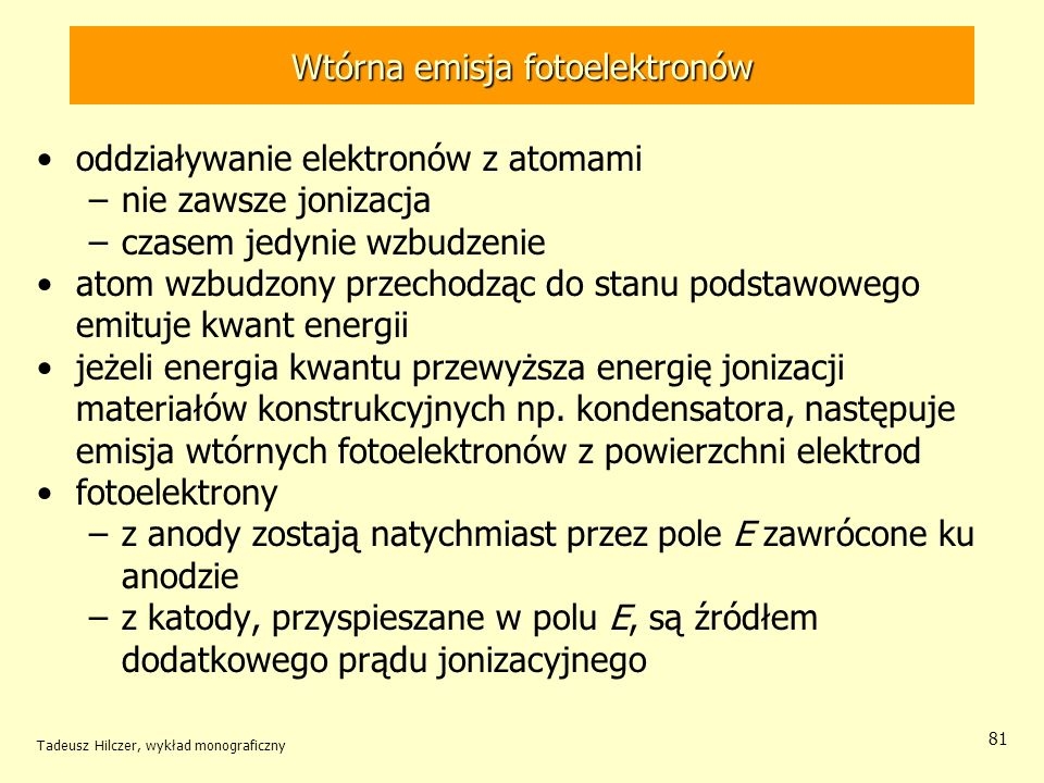 Wtórna emisja fotoelektronów