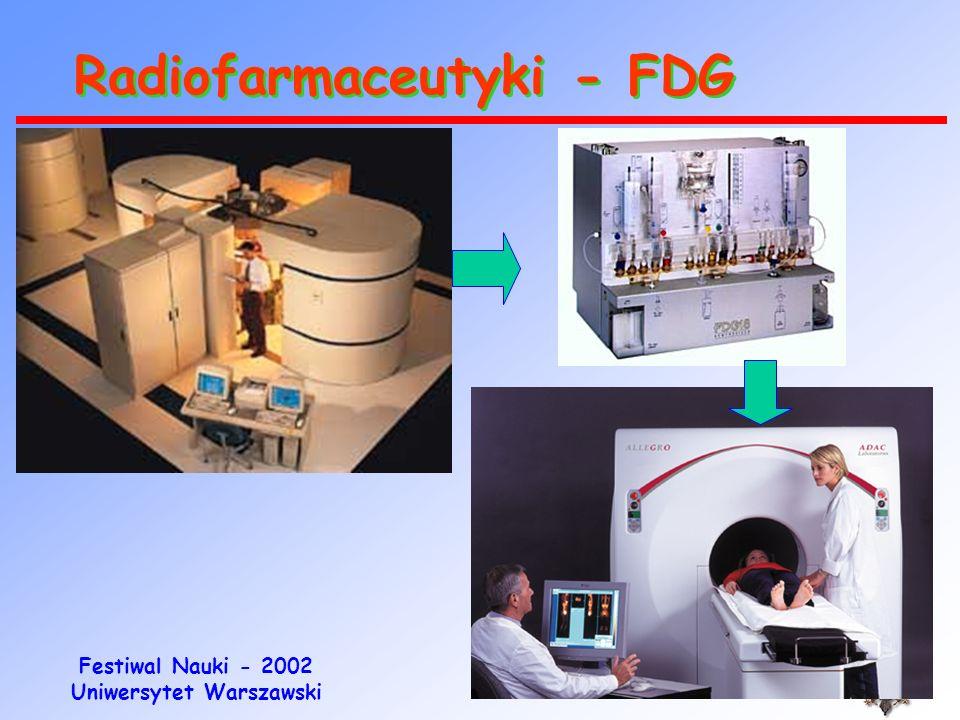 Radiofarmaceutyki - FDG