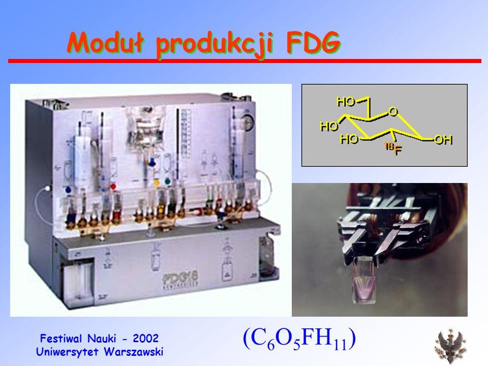 Moduł produkcji FDG (C6O5FH11)