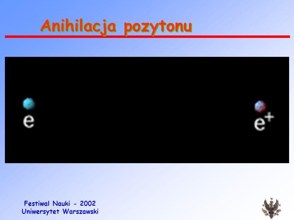 Anihilacja pozytonu