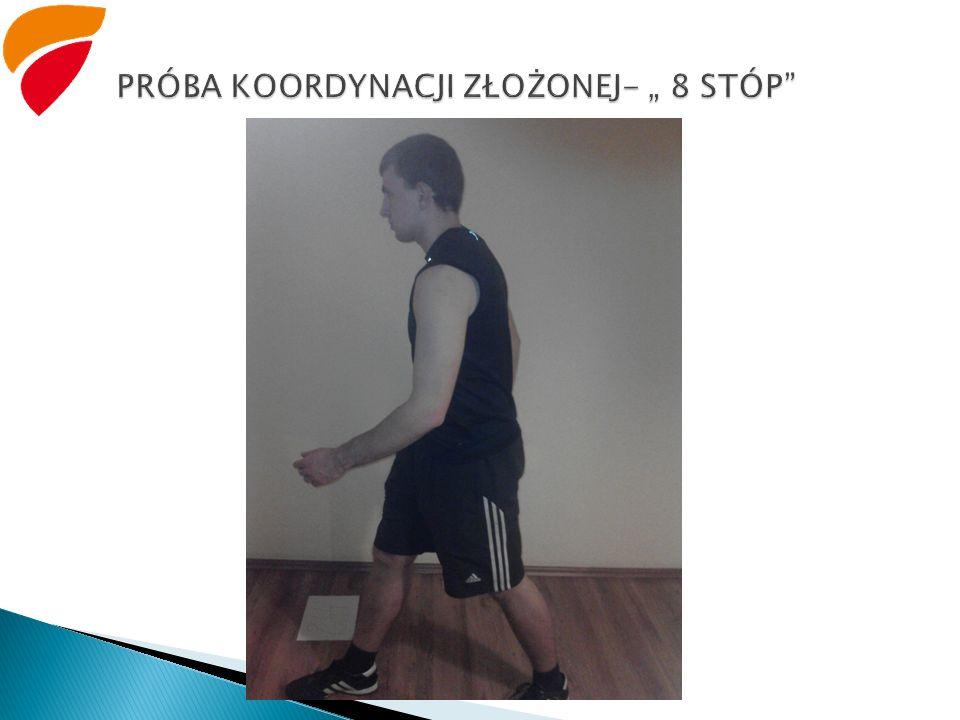 """PRÓBA KOORDYNACJI ZŁOŻONEJ- """" 8 STÓP"""