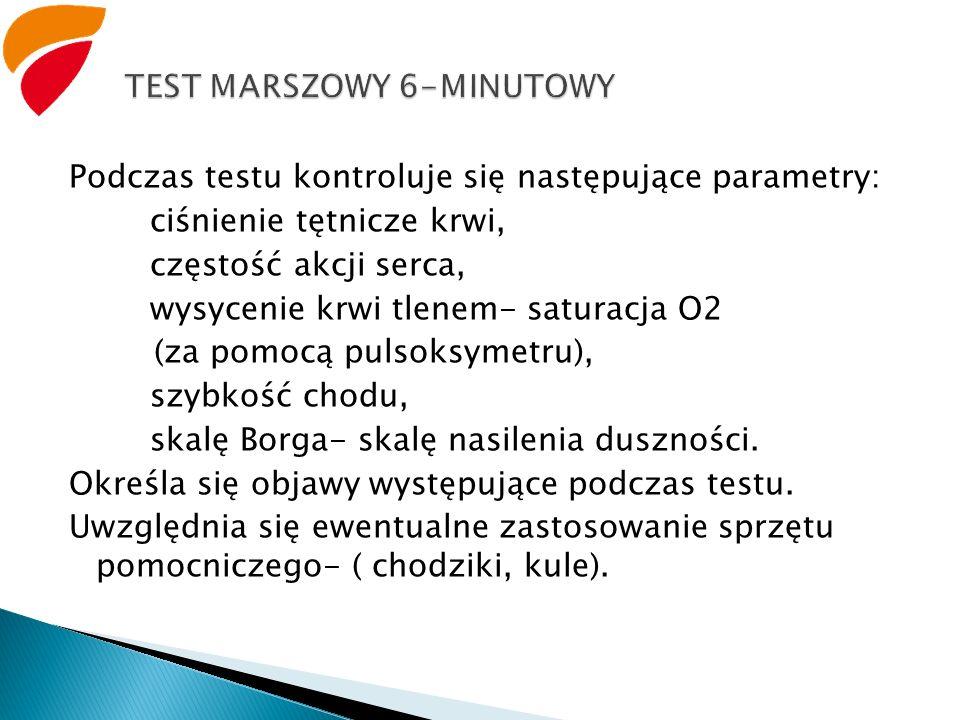 TEST MARSZOWY 6-MINUTOWY