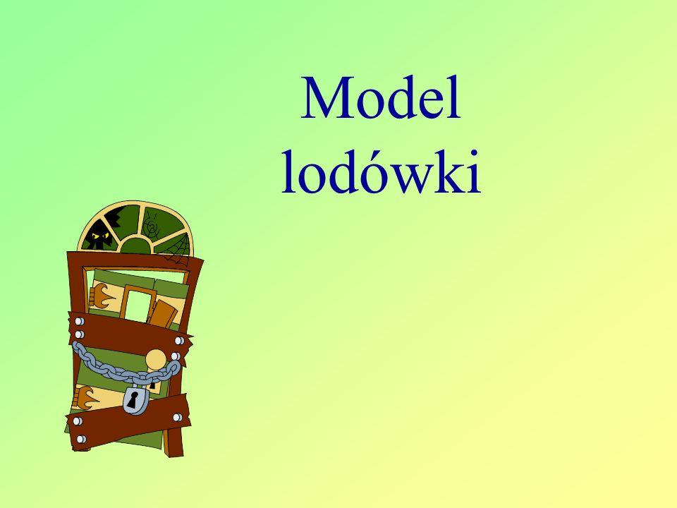 Model lodówki