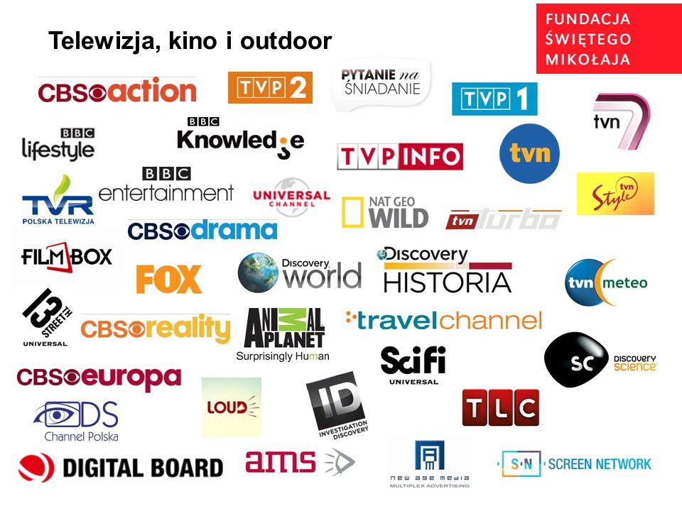 Telewizja, kino i outdoor