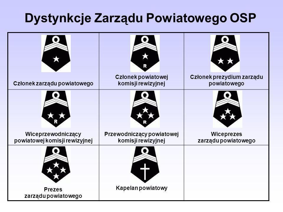 Dystynkcje Zarządu Powiatowego OSP