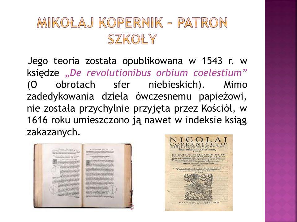 Mikołaj Kopernik – patron szkoły
