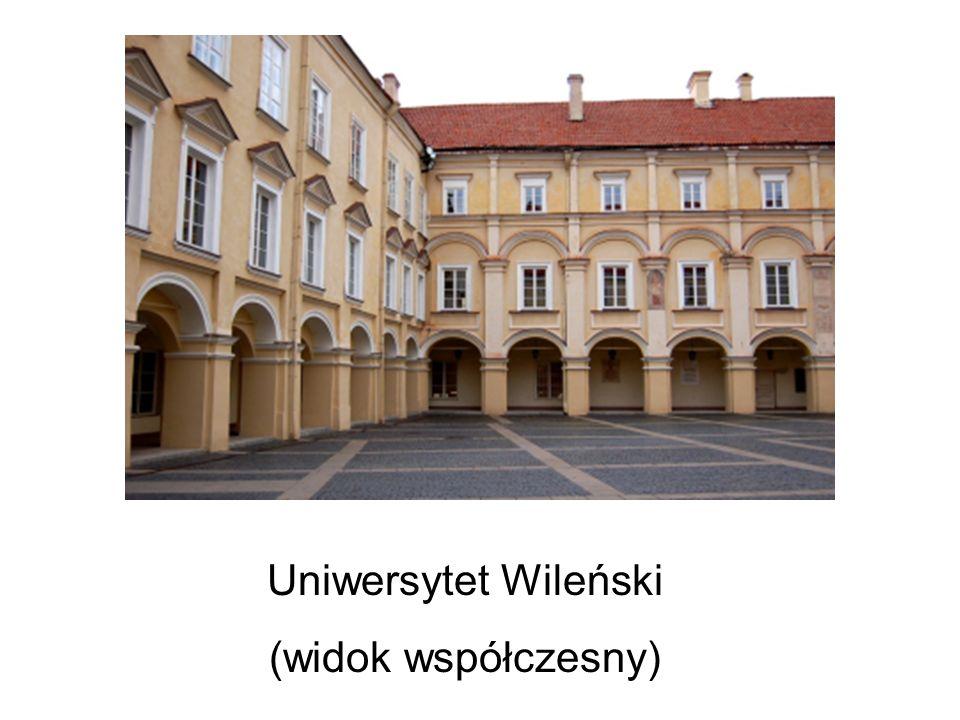 Uniwersytet Wileński (widok współczesny)