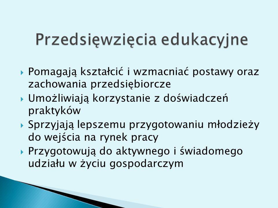 Przedsięwzięcia edukacyjne