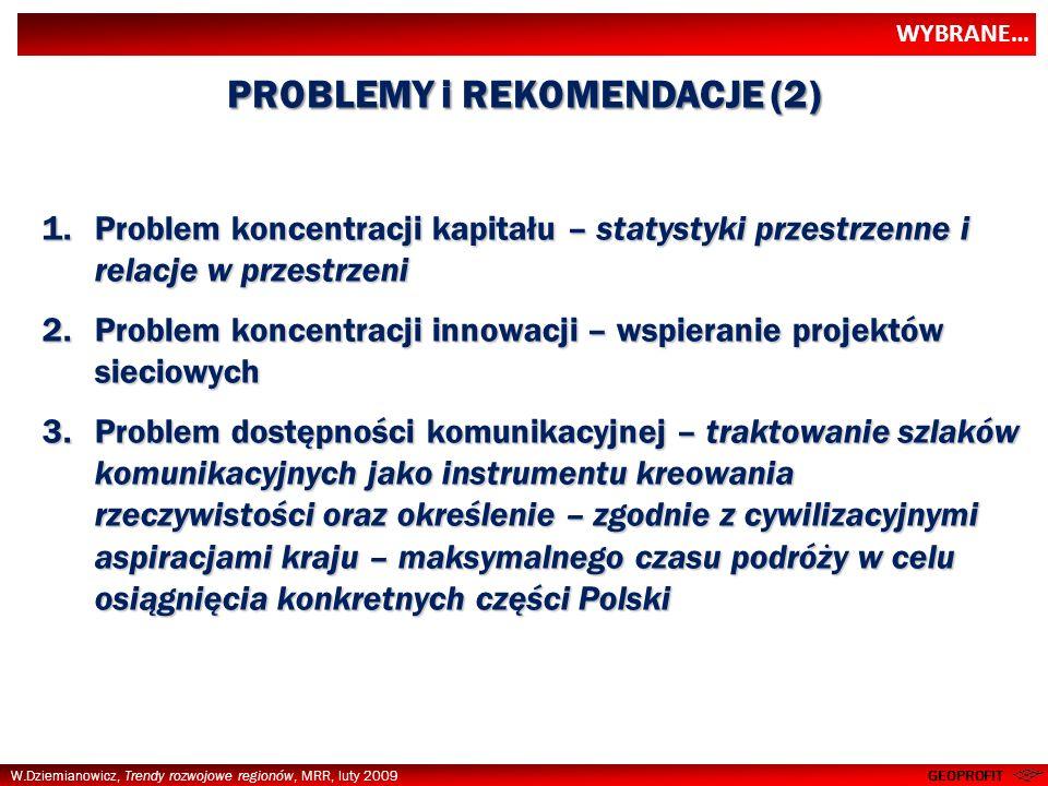 PROBLEMY i REKOMENDACJE (2)