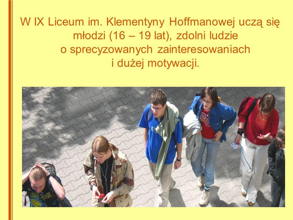 W IX Liceum im.