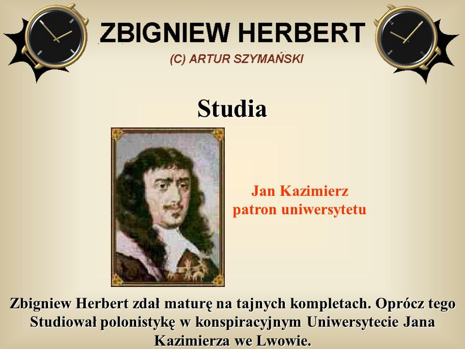 Jan Kazimierz patron uniwersytetu