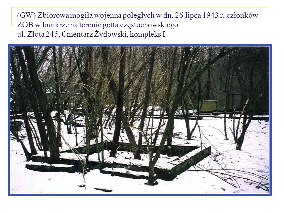 (GW) Zbiorowa mogiła wojenna poległych w dn. 26 lipca 1943 r