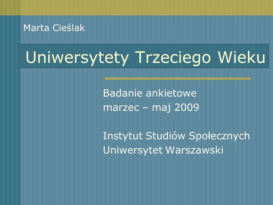 Uniwersytety Trzeciego Wieku