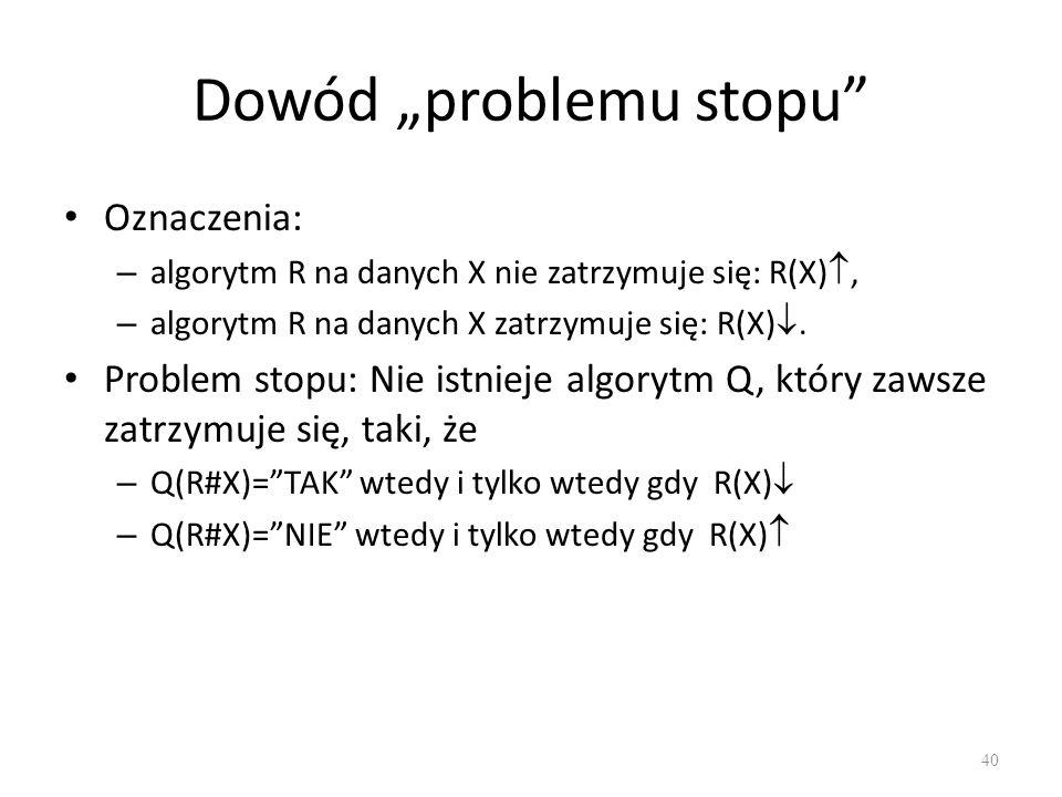 "Dowód ""problemu stopu"