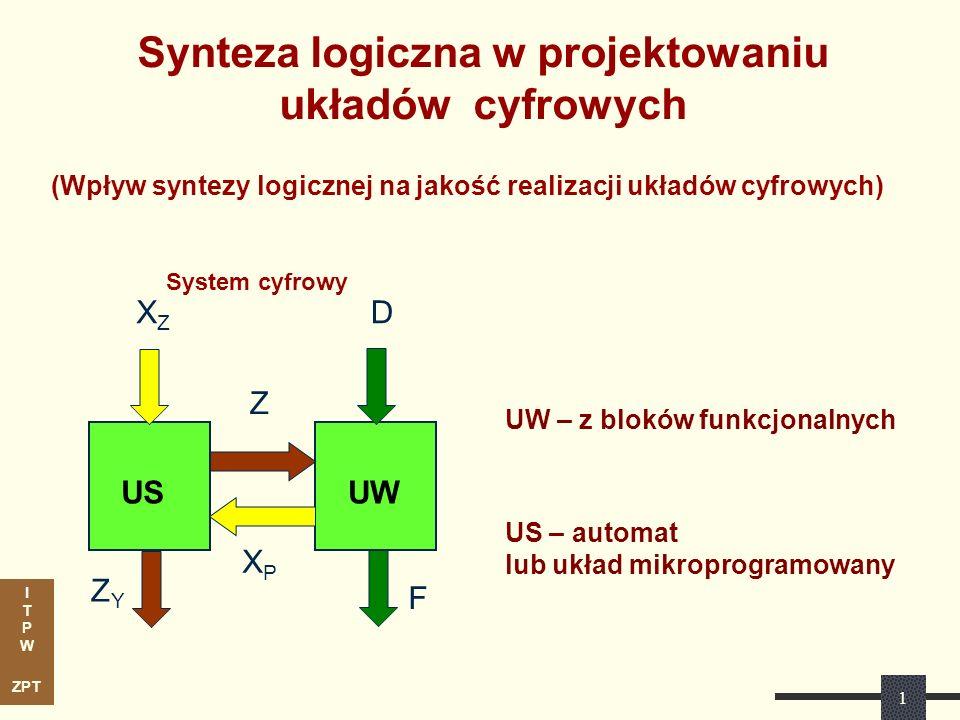 Synteza logiczna w projektowaniu układów cyfrowych