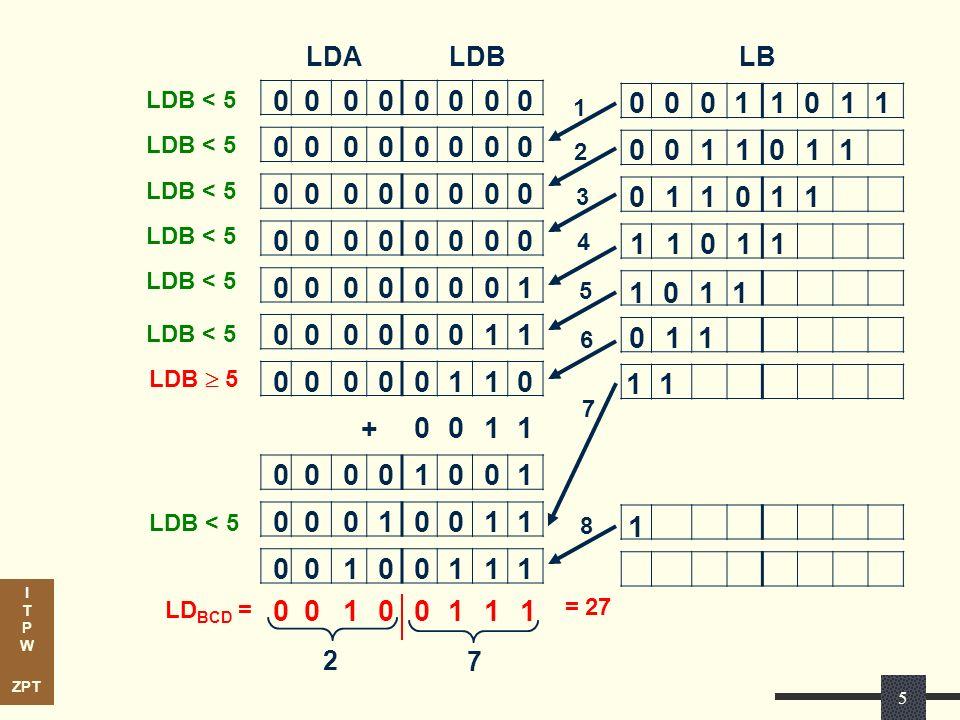 LDA LDB. LB. LDB < 5. 1. 1. LDB < 5. 2. 1. LDB < 5. 3. 1. LDB < 5. 4. 1. LDB < 5. 1.