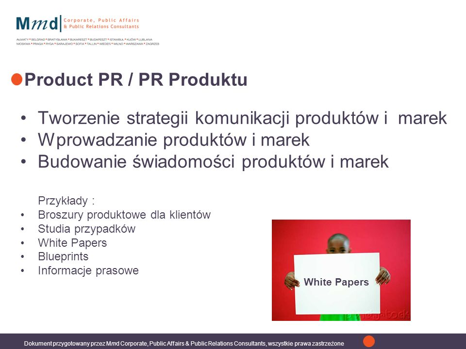 Product PR / PR Produktu