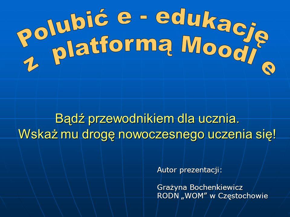 """Autor prezentacji: Grażyna Bochenkiewicz RODN """"WOM w Częstochowie"""