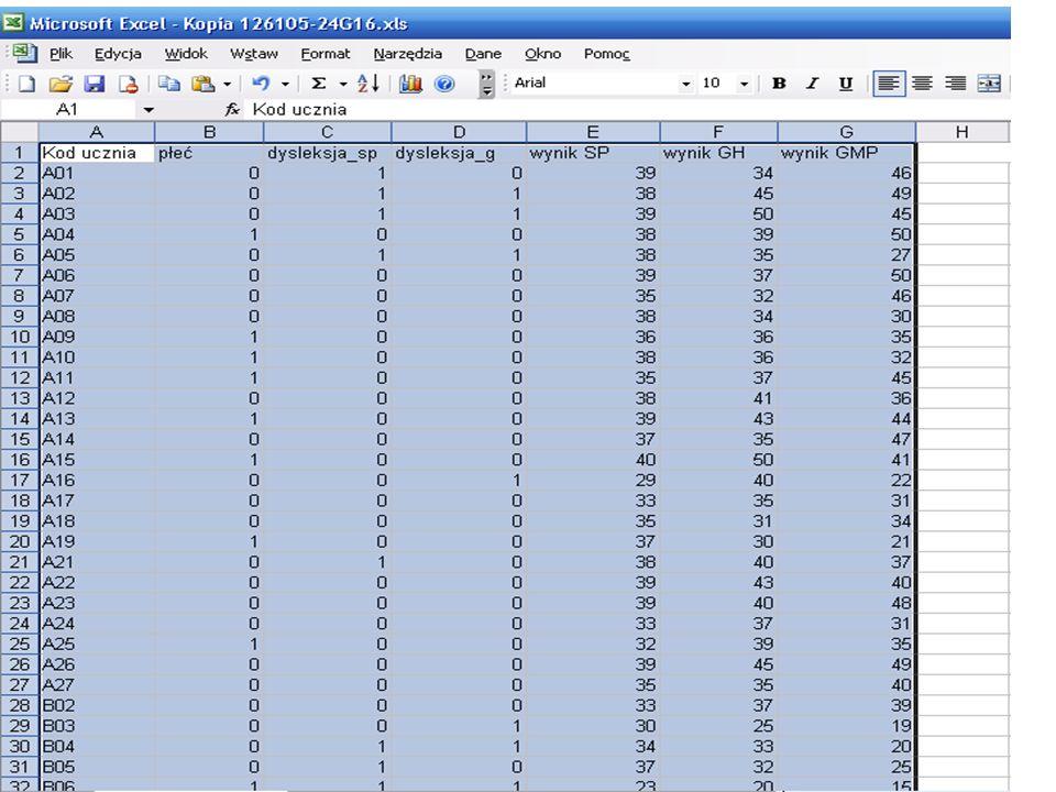 Przygotowano pliki wsadowe do kalkulatora dla każdego gimnazjum w OKE.