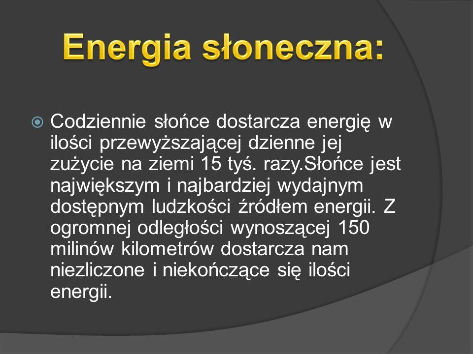 Energia słoneczna: