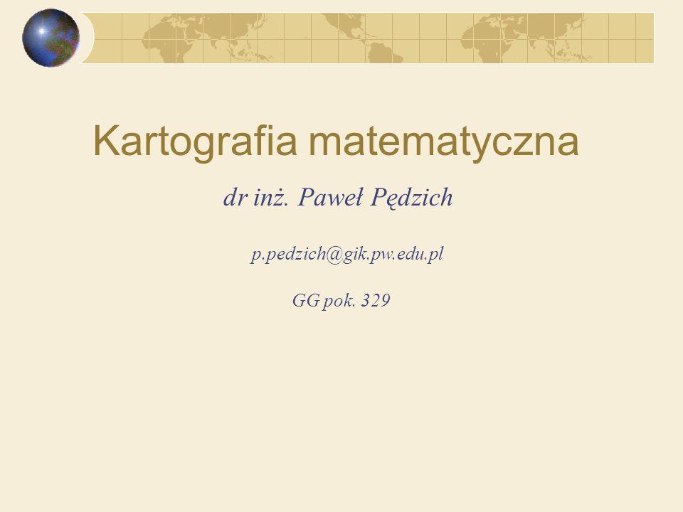 Kartografia matematyczna