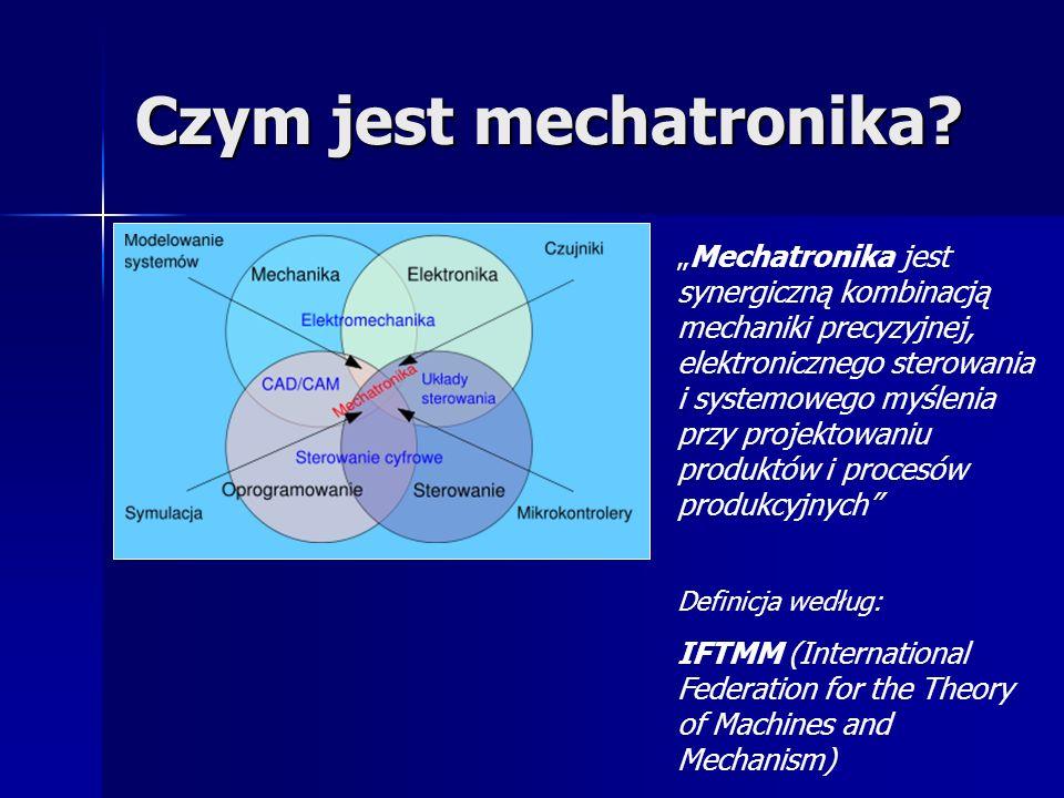 Czym jest mechatronika