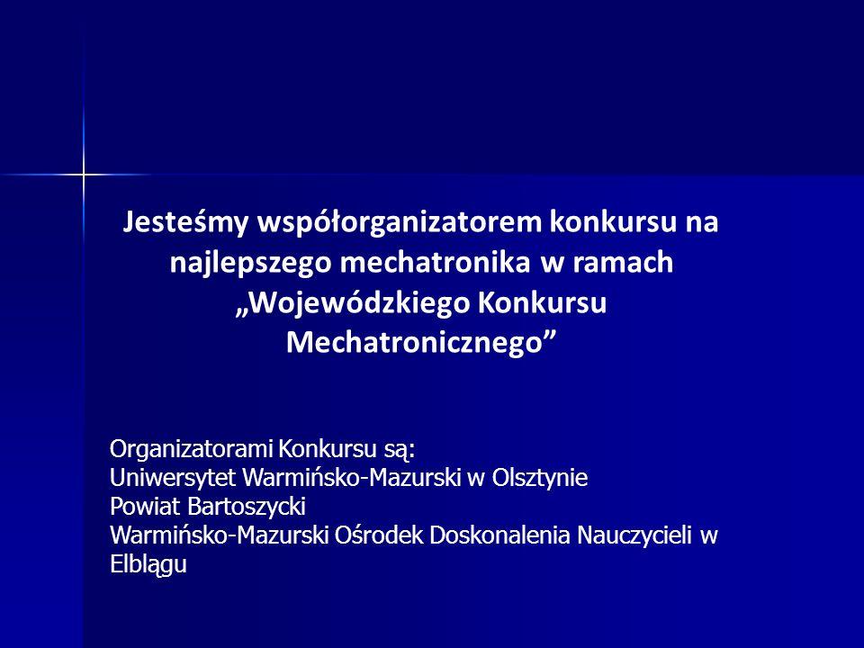 """""""Wojewódzkiego Konkursu Mechatronicznego"""