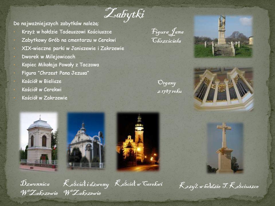 Krzyż w hołdzie T. Kościuszce