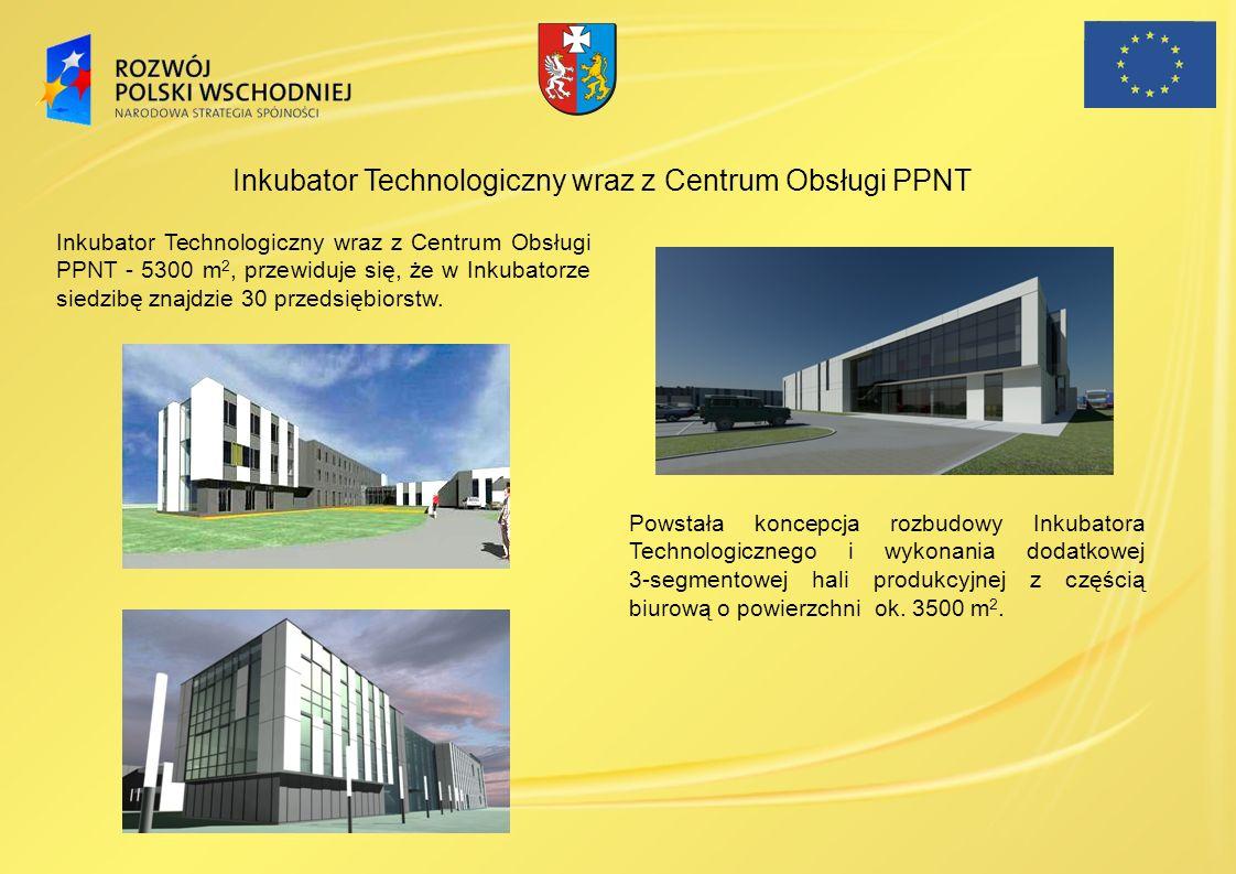 Inkubator Technologiczny wraz z Centrum Obsługi PPNT